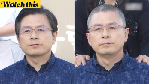 韩国最大在野党代表史上首次剃发抗议:辞退法务部长官 接受调查