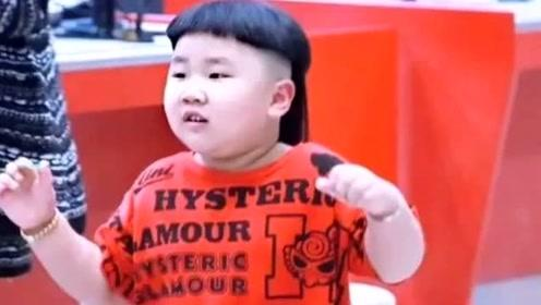 郭德纲4岁小儿子近照曝光 锅盖头长辫子小脸胖嘟嘟