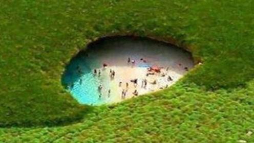 大自然的鬼斧神工!墨西哥马列塔群岛森林里,藏着一片海滩