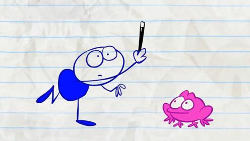 小伙得到一魔法棒,却一下把女友变成了青蛙,下巴都惊掉了!