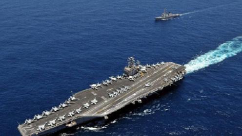 真正实力不慎被曝光,美军仅一艘航母可勉强用,美上将:无言以对