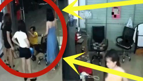 """男子足浴店消遣,却遇到五名""""小少妇"""",3秒后直接跪地求饶!"""