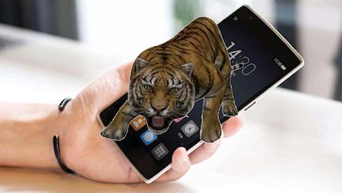 教你在手机里养只老虎,女友想偷看你手机,老虎就跳出来咆哮