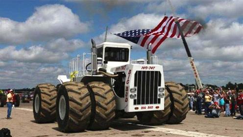 世界上最大的拖拉机,1分钟耕6亩地,价值30万美金