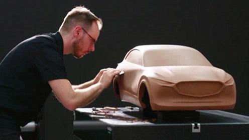 月薪百万的汽车设计师,是如何制作汽车模型的?太震撼了