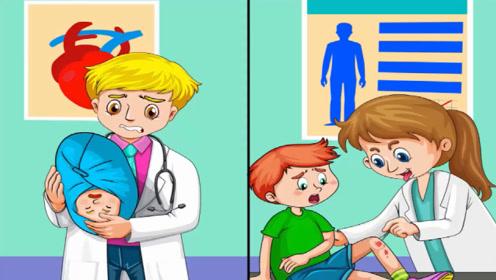 脑力测试:医院的两个医生中,谁是变态杀人魔?