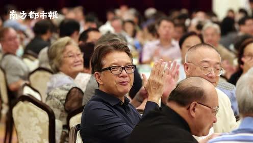 """香港艺术界""""千人晚宴""""同贺国庆,霍震霆建议提升青少年文化涵养"""