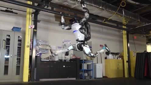 国外机器人会体操运动 几乎与真人无异
