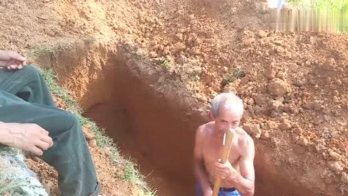 农村土葬,一个小山头满山都是坟!