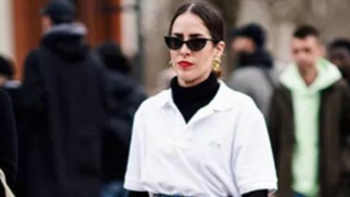 """""""衬衫+高领"""",19年秋冬最流行的穿法,整个娱乐圈都在穿!"""