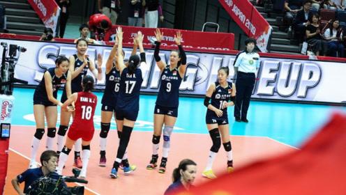 毫无悬念 中国女排战荷兰女排,中国女排势在零封对手豪取9连胜