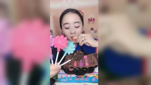 小姑娘吃的小冰棍,看起来真可爱,网友:我也好喜欢吃啊