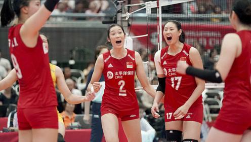 142秒高燃回顾11连胜!中国女排获世界杯冠军 郎导热泪盈眶