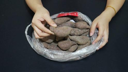 红薯吃不完难保存,老农教我小窍门,放几个月都不坏,简单又实用