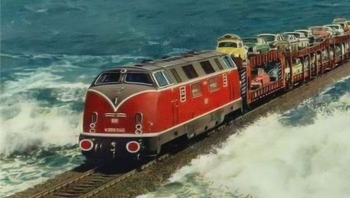 从广东到海南没有桥,火车是怎么过海的?看完解开我多年疑惑