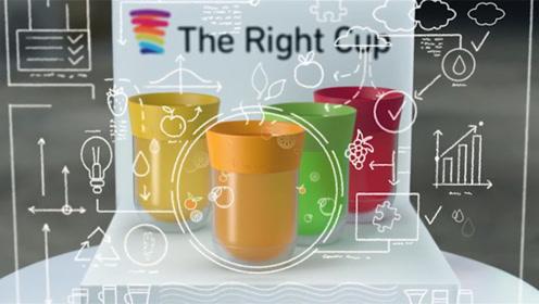 歪果仁设计新科技,自带口味的水杯,白开水可以喝出味道!