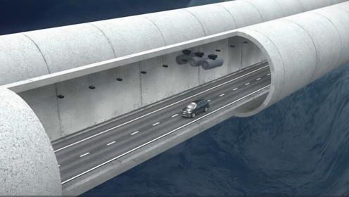 """港珠澳大桥隧道,""""头顶""""40米深的海水,万一漏水该怎么逃生?"""