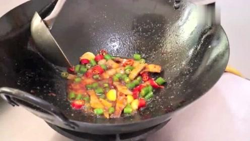 干锅花菜好吃有窍门,这才是正确做法,越吃越香,学会待客有面子