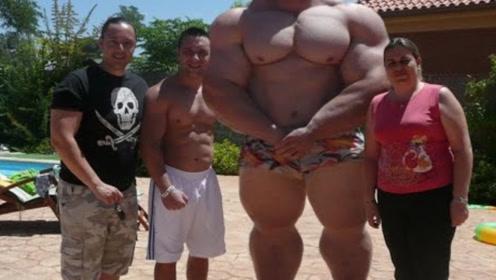 举重界肌肉最牛,健美界力量最大,与绿巨人只差点绿