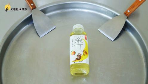 炒冰淇淋:蜜桃乌龙茶是可以吃的你知道吗?方法真的很简单!