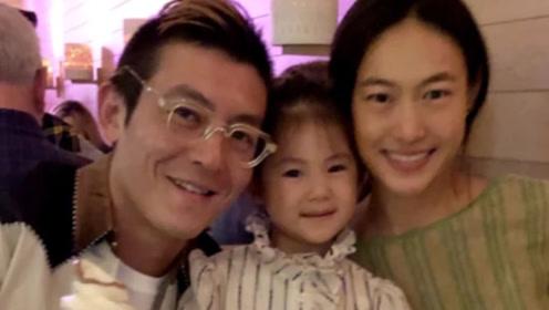 陈冠希低调庆祝39岁生日 一家三口脸贴脸合照幸福温馨