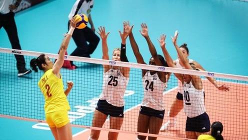 中国女排3-0零封美国队,郎平关键时刻叫出暂停,大喊了九个字