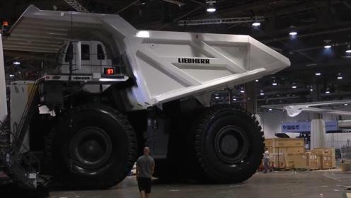 世界上最大卡车有多大?长15米高8米碾压一切车辆,网友:怪物
