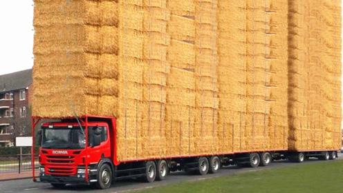 公路上遇到一辆大货车,跟上前去一看,我才知道什么叫霸气!