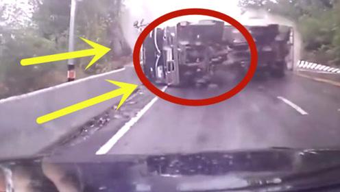视频车亲眼目睹惨重事故,女司机绝望的尖叫,当场被吓哭了!