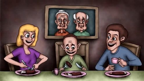 咖子脑力测试:这个家庭里谁是外星来的?