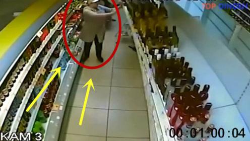 理货员倒霉的时候,喝口凉水都塞牙,数百瓶红酒摔碎!