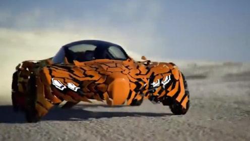 驾驶能够变形的跑车有多酷炫?小伙精妙自制,跑车:怎么有点漏风