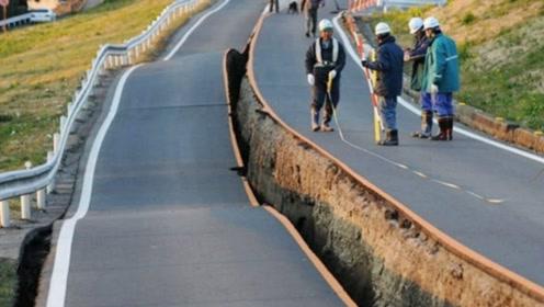 为什么日本地震后,公路都是整齐地从中间裂开?今天总算知道了