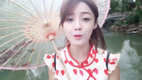 流行歌曲欣赏《红豆》网红女孩柔情翻唱很好听