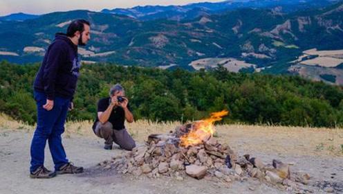 世界上最没尊严的火山!百余年没熄灭,却被人们用来烧烤