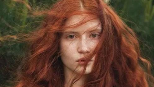 世界上最稀有的种族,天生一头妖艳红发,专家预言100年后将灭绝