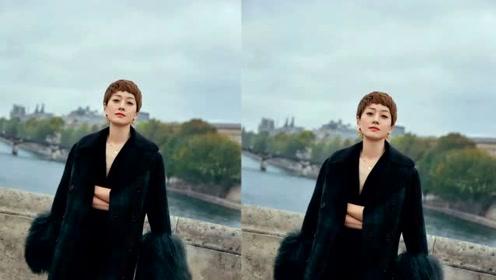 马伊琍巴黎街拍变大型换装秀 或温暖或霸气演绎秋日格调