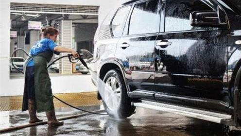 老外发明洗车黑科技,比洗车店洗得还干净,真是车主的福音