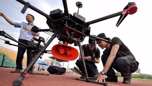 中国的警用无人机有多牛?全身黑科技,小毛贼无处可藏!