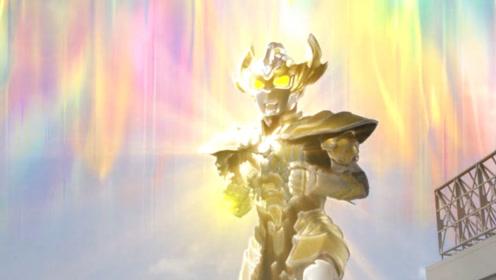 努力对抗怪兽,最强招式爆发,泰迦为地球英勇迎战!