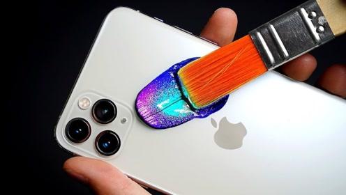 小伙将iPhone11大改造,走在街上逢人就送,发生了什么?