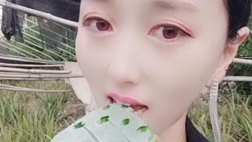 天哪!芦荟女人可以吃,看来是纯植物无添加的