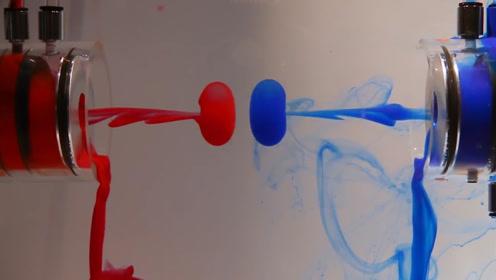 旋涡在水中碰撞会怎样?老外耗时几年实验,产生的画面太惊艳!