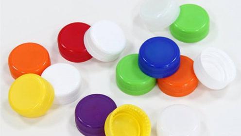 塑料瓶盖一个都别扔,2个粘一起真厉害,人人用得到,不学可惜