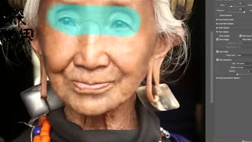 Ps到底有多神奇?90岁老奶奶被还原回18岁少女模样,网友:心动了