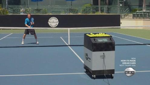 指哪儿打哪儿!看网球发球机如何做到的?