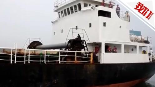 青岛海关查扣走私冻品560余吨 嫌犯利用货船涂改船名偷运入境