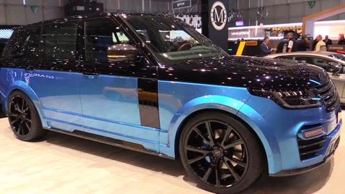 """又一豪华SUV要上市,长5米2带大7座,配全时四驱,号称""""陆地霸王"""""""