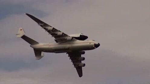 从安225运输机上分离航天飞机,空中脱离飞行,这航模太专业了!