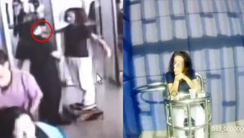 女子手中藏打火机过安检被查  怒怼民警被拘痛哭流涕